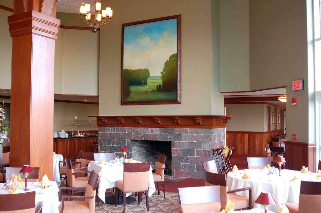 Framing and installation at the Hartford Golf Club, Hartford, Connecticut